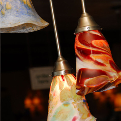 Hand Blown Glass Pendant Lighting 1