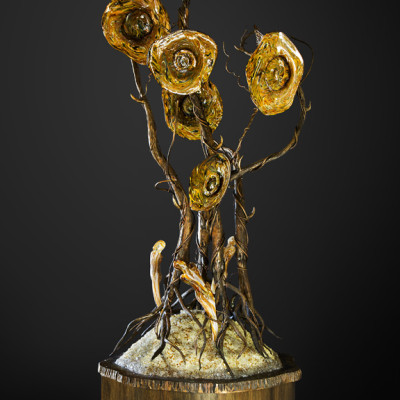 """Perseverance"" Handblown Glass by David Gappa"